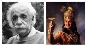 buku bhagavad einstein krishna
